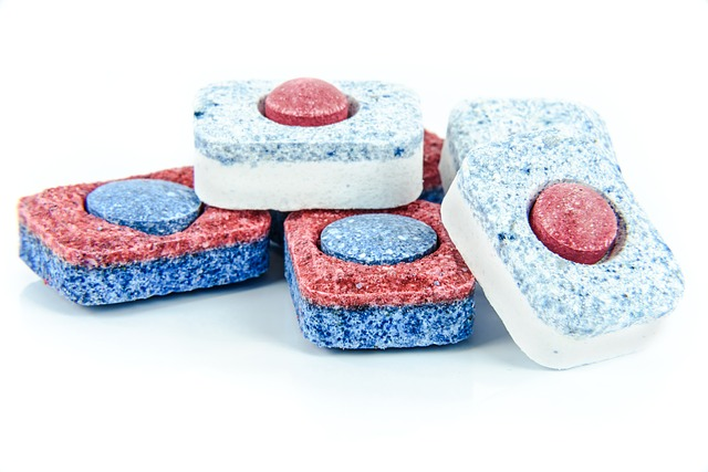 tablety na nádobí