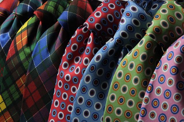 kravaty s puntíky