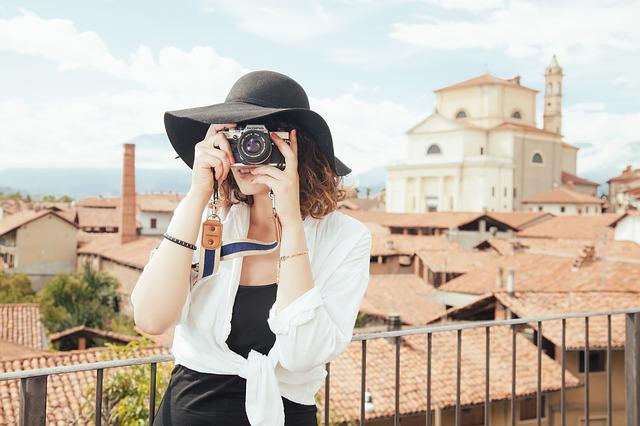 fotografování ve městě