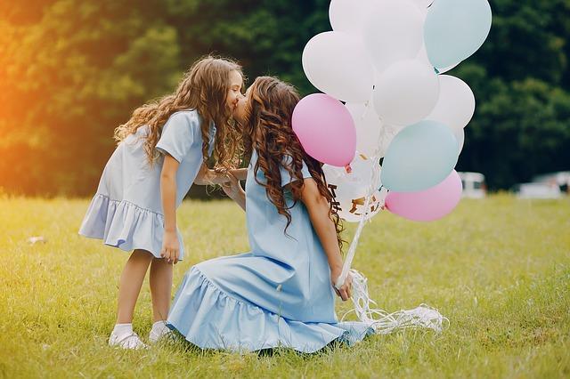 Matka s dcerou, mateřská láska, láska