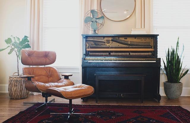 Pianino v bytě
