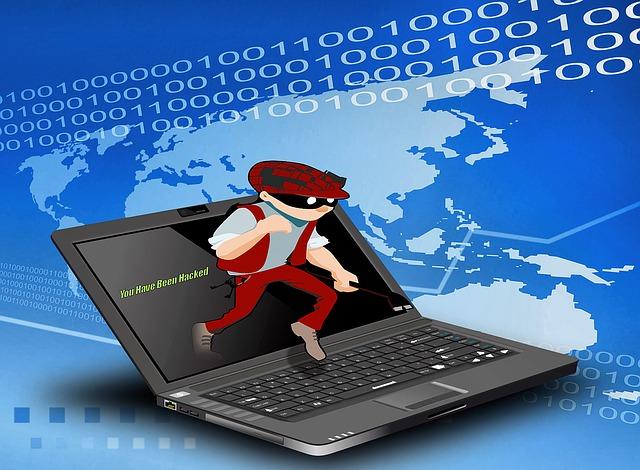 Znázornění hackera