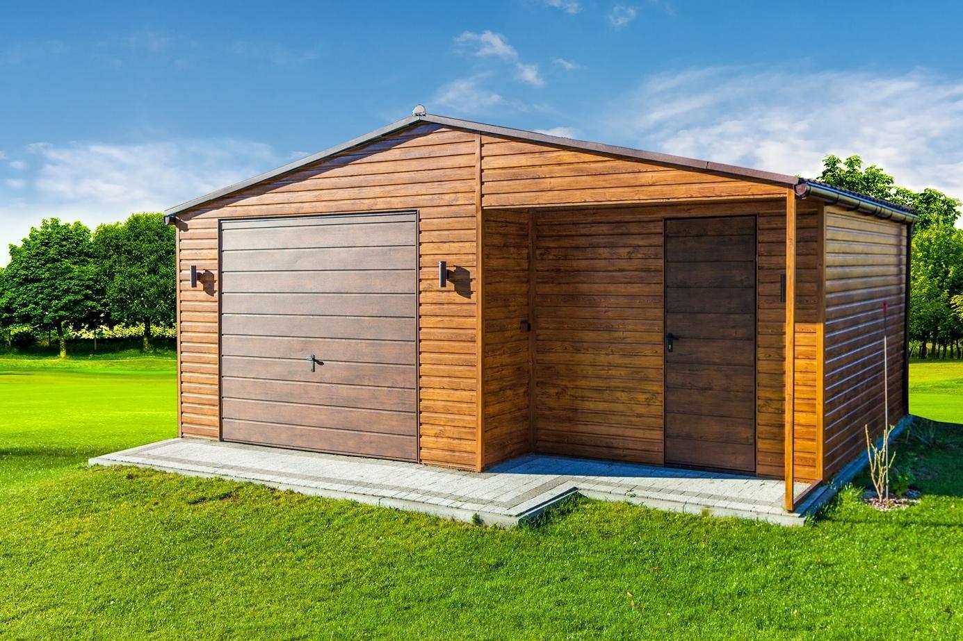 dřevěná chata