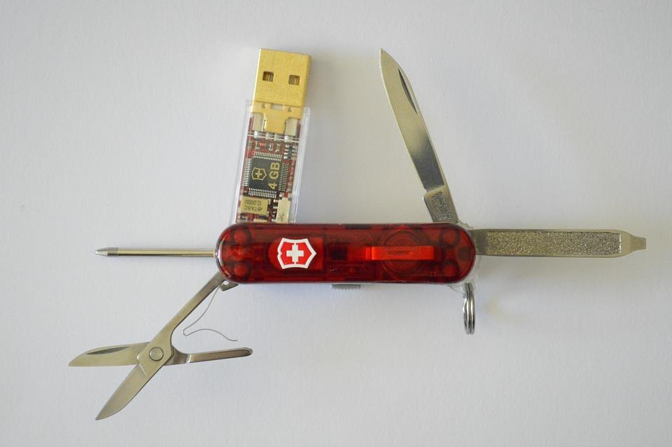 reklamní nůž